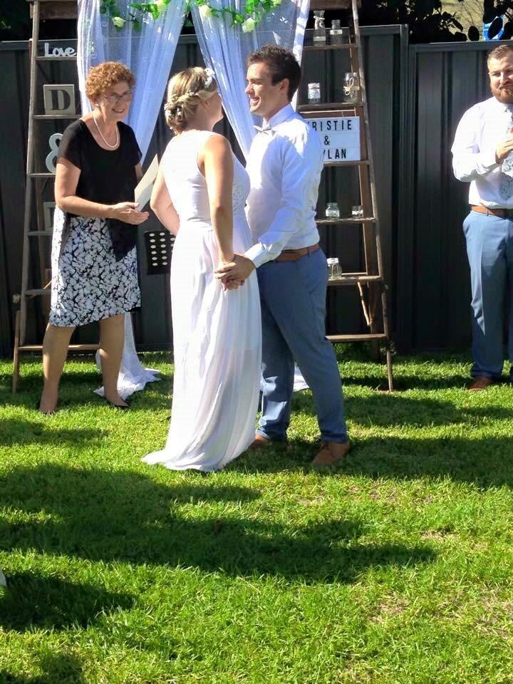 A backyard wedding- Newcastle NSW (1)